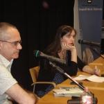 Luna Miguel a la Biblioteca Mercè Rodoreda