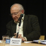 Joaquín Marco a l'Arxiu Audiovisual De Pensament, Paraula i Obra