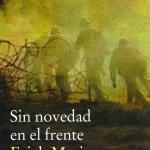 Cicle novel·les i novel·listes de la Primera Guerra Mundial: Sin novedad en el frente d'Erich Maria Remarque