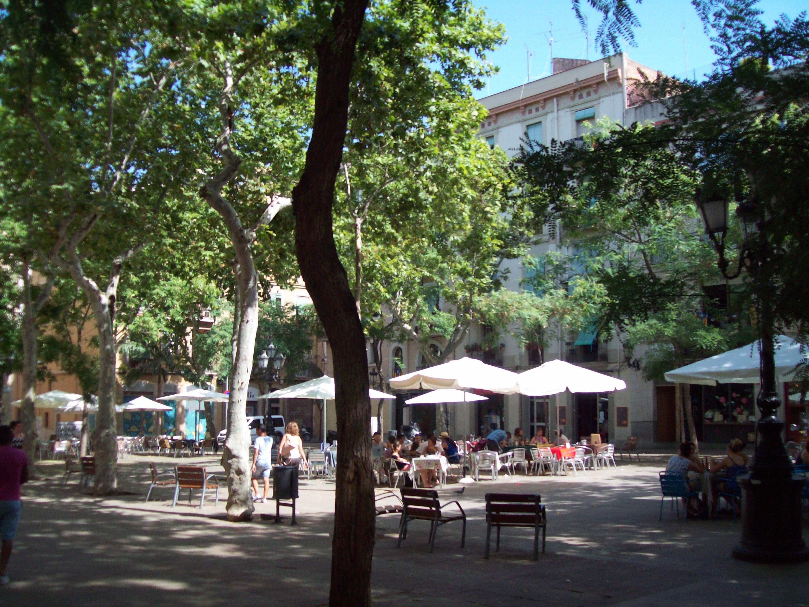 plaza osca sants