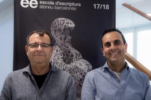 Pau Pérez i Jordi Muñoz, directors de l'Escola d'Escriptura