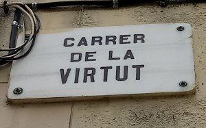 carrer de la virtut